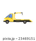 トラック つる クレーンのイラスト 23469151