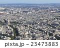 エッフェル塔から見た凱旋門:パリ 23473883
