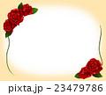花 フレーム 植物のイラスト 23479786