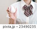女子高生(高校野球応援イメージ) 23490235