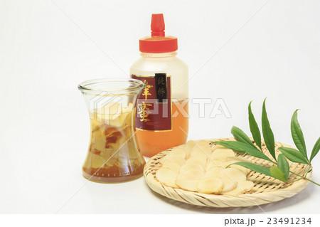保存食 生姜のはちみつ漬けの写真素材 [23491234] - PIXTA