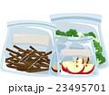 袋 プラスチック プラスティックのイラスト 23495701