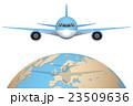 飛行機 航空機 飛行のイラスト 23509636