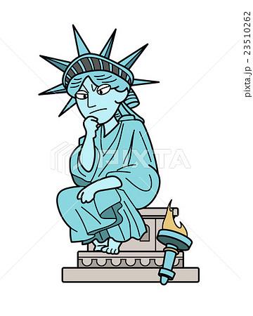 自由の女神-考える 23510262