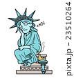 自由の女神-居眠り 23510264