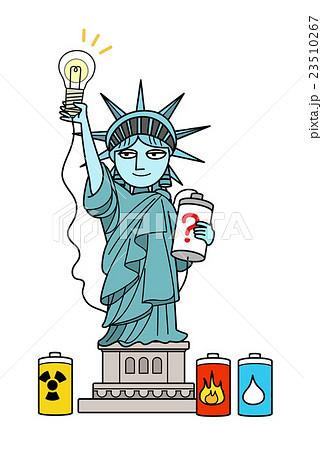 自由の女神-電力自由化 23510267