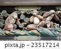 日光東照宮の3匹の猿 23517214