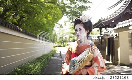 舞妓さん 京都観光イメージ 23521168