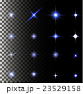set of glow light effect stars bursts with 23529158