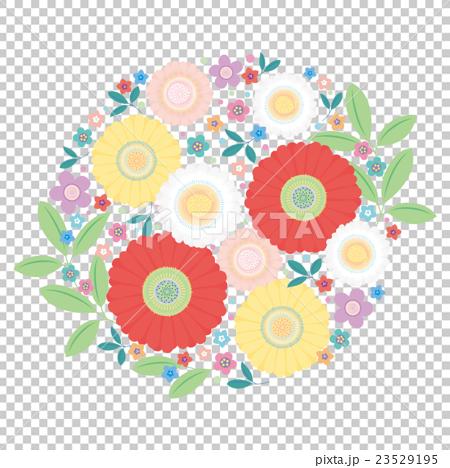 カット素材-可愛い花 23529195