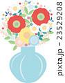 カット素材-可愛い花と花瓶 23529208