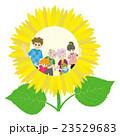 家族 三世代家族 花のイラスト 23529683