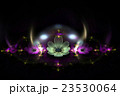 Abstract fractal alien flowers. 23530064
