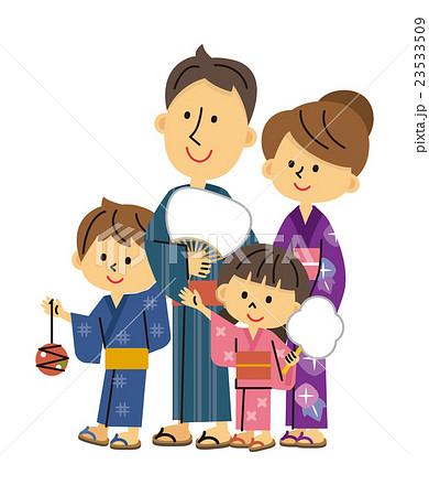 家族で夏祭り【三頭身・シリーズ】 23533509