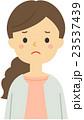 女性 困る 悩むのイラスト 23537439