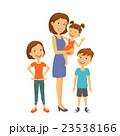 ベクトル ファミリー 家庭のイラスト 23538166