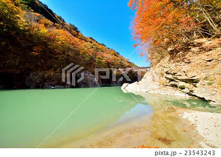 紅葉 渓谷 日光 龍王峡 23543243