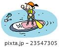 SUP、スタンダップパドルサーフィン 23547305
