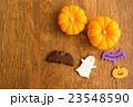 ハロウィンのカボチャとお化けのクッキー 23548590