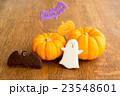 ハロウィンのカボチャとお化けのクッキー 23548601