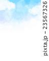 筆描き 暑中見舞い テンプレート 23567326
