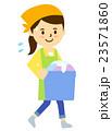 女性洗濯物 23571860