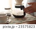 コーヒー 淹れる ホットコーヒーの写真 23575823