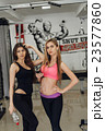 Two beautiful girl at the gym 23577860