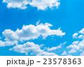 空 青空 雲の写真 23578363