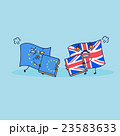 British flag brext EU flag 23583633