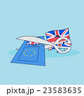 British flag brext EU flag 23583635