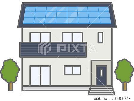 太陽光発電 23583973