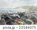 能登 黒島 日本海の荒海のスケッチ 23584075