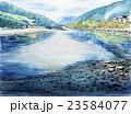 岩国 錦帯橋 錦川のスケッチ 23584077