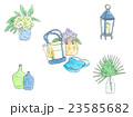 夏らしいインテリア小物のイラスト2 23585682