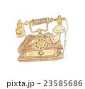 海外のレトロな電話のイラスト 23585686