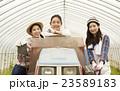 農業女子 ポートレート 23589183