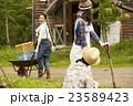 農業女子 仕事風景 23589423