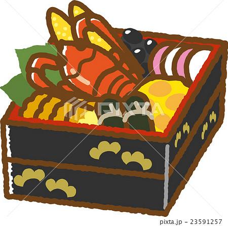 おせち料理 23591257