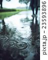雨 公園 雨天の写真 23593896