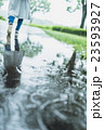 雨 公園 雨天の写真 23593927