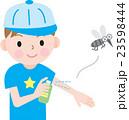 虫除け 子供 虫除けスプレーのイラスト 23598444