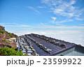 富士山の山小屋と雲海 23599922