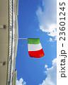 なびくイタリアの国旗 23601245