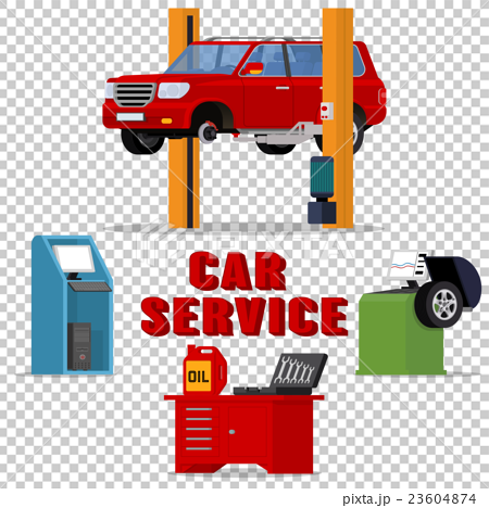 Vector concept car services 23604874