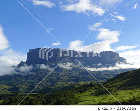 クケナン山、ギアナ高地の写真素...