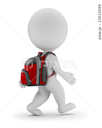 3d small people - back to school 23610099