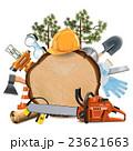 丸太 丸木 器具のイラスト 23621663