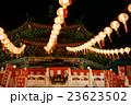横浜中華街の媽祖廟の提灯 23623502