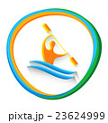Canoe Slalom Athlete Sport Competition Icon 23624999